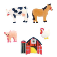 Farm Animals Assorted Sugars by Lucks