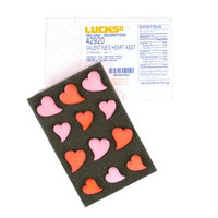 Valentine's Heart Assorted Sugars by Lucks