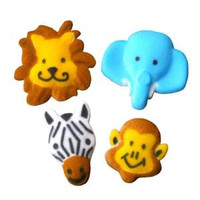 Jungle Animals Assorted Sugars by Lucks