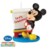 Mickey Mouse Birthday Candle