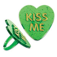 Kiss Me Cupcake Rings
