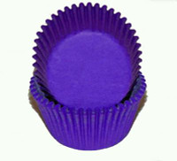 Standard Size Purple Baking Cups