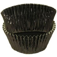 Standard Size Black Foil Baking Cups