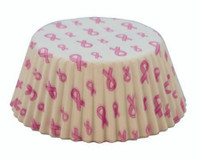 Standard Size Breast Cancer Awareness Baking Cups