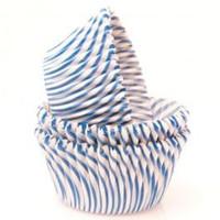 Standard Size Blue Pisa Baking Cups
