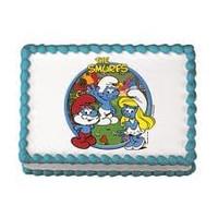 Smurfs Edible Image
