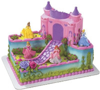 Disney Princess Castle Cake Topper