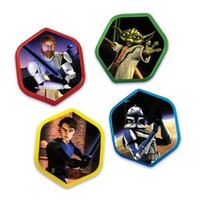 Star Wars The Clone Wars Cupcake Toppers/Rings