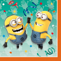 Minions Despicable Me - Lunch Napkin (16)