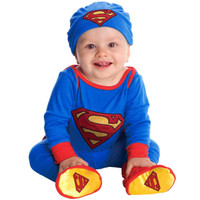Superman Onesie Infant Costume