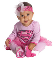 Supergirl Onesie Infant Costume