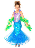 Mermaid Toddler/Child Costume