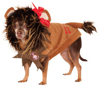 Wizard Of Oz - Cowardly Lion Pet Costume