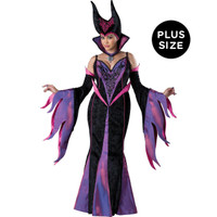 Dark Sorceress Plus Size Adult Costume