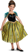 Disney Frozen - Anna Coronation Deluxe Girls Costume