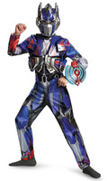 Transformers Age of Extinction +AC0-  Deluxe Optimus Prime Kids Costume