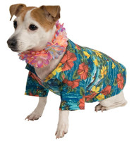 Luau Jacket & Lei Pet Costume