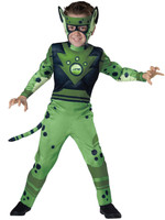 Wild Kratts Quality Cheetah Green Child