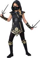 Gold Ninja Girl -  Child Costume