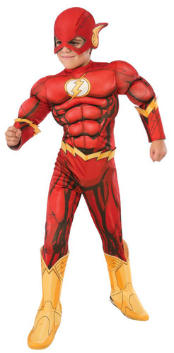 The Flash Deluxe Child Costume Thepartyworks