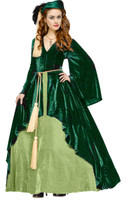 Gone with the Wind Scarlet O' Hara Portieres Gown Adult Costume