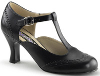 Black Flapper Adult Shoe 7