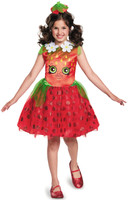 Shopkins Strawberry Kiss Girls Costume