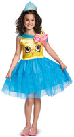 Shopkins Cupcake Queen Girls Costume