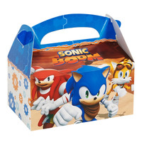 Sonic Boom Empty Favor Boxes