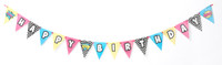 Superhero Girl Ribbon Banner 2