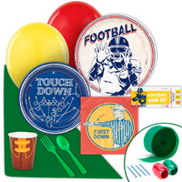 Football Game Time Value Party Pack