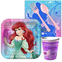 Disney The Little Mermaid Sparkle Snack Party Pack