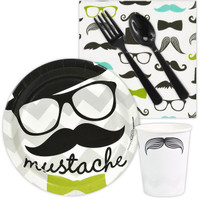 Mustache Man Snack Party Pack