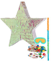 Iridescent Star Foil Pinata Kit