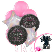 Birthday Girl Sweets Balloon Bouquet