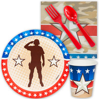 Camo Army Soldier Snack Party Pack