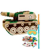 Camo Army Soldier Pinata Kit