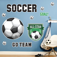 Soccer Giant Wall Decals