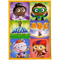 Super Why! Sticker Sheets