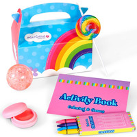 Rainbow Birthday Filled Party Favor Box 2