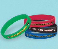 Power Rangers Dino Charge Rubber Bracelets (4) 2