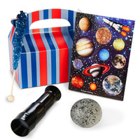 Space Blast Filled Party Favor Box (Set of 4)