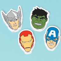 Avengers Assemble Erasers (12))