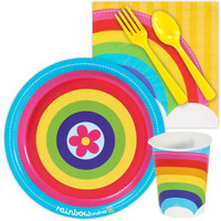 Rainbow Wishes Snack Party Pack