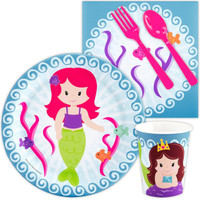Mermaids Snack Party Pack