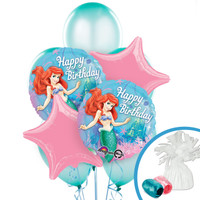 Disney The Little Mermaid Sparkle Balloon Bouquet