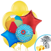 Splashin' Pool Party Balloon Bouquet