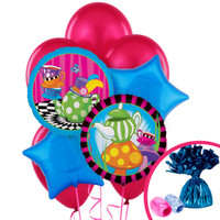 Topsy Turvy Tea Party Balloon Bouquet