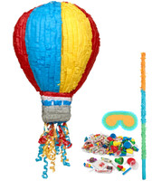 Hot Air Balloon Party Pinata Kit