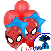 Spider Hero Dream Party Balloon Bouquet